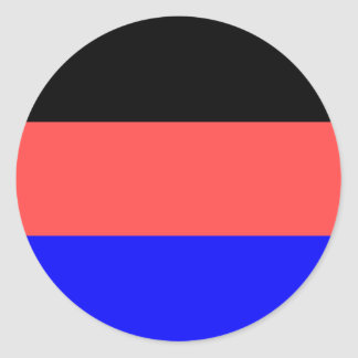 East Frisia (Germany) Flag Classic Round Sticker