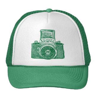 East German Camera - Green Cap