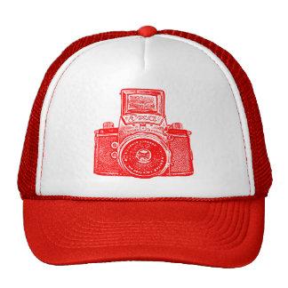 East German Camera - Red Cap