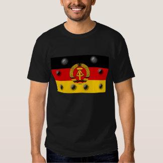 East German Flag Tee Shirt