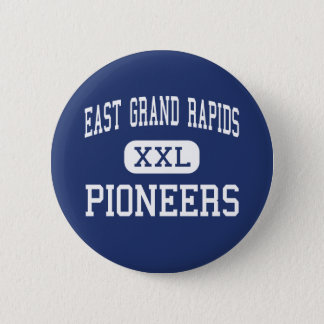 East Grand Rapids - Pioneers - High - Grand Rapids 6 Cm Round Badge