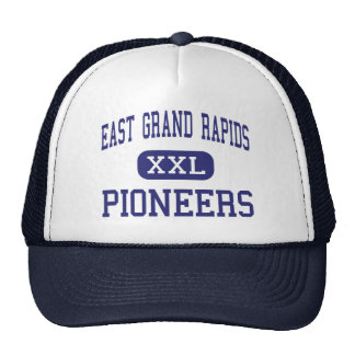 East Grand Rapids - Pioneers - High - Grand Rapids Mesh Hats