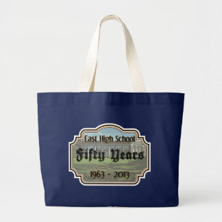 East High School Fifty Year Reunion Jumbo Tote