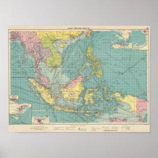 East Indian ports Print