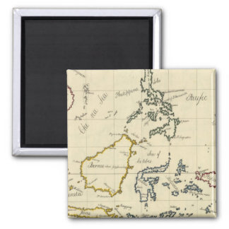 East Indies Square Magnet