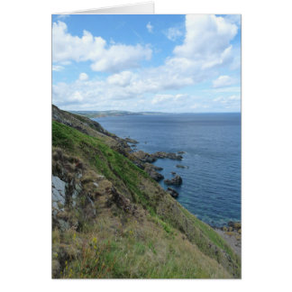 """East Lothian Coastline of Scotland"" Card"