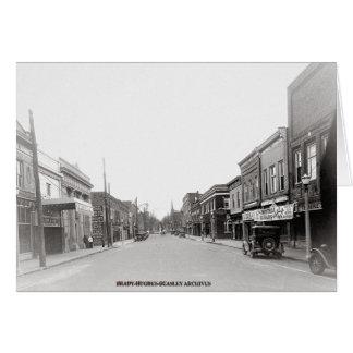 East Main Street-McMinnville Tennessee Circa 1930 Card