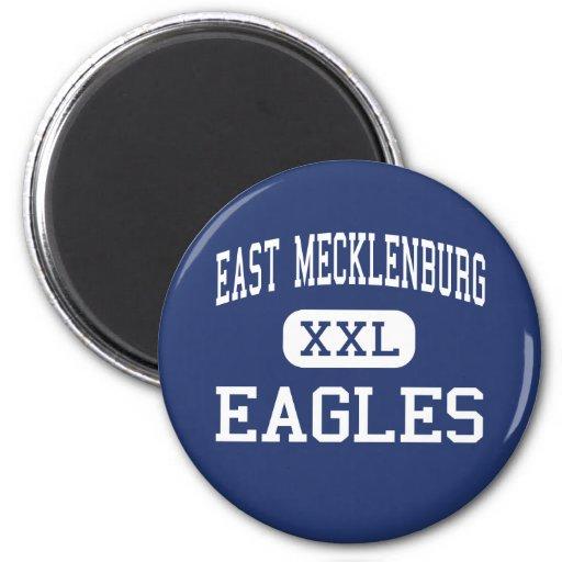 East Mecklenburg - Eagles - High - Charlotte Refrigerator Magnet