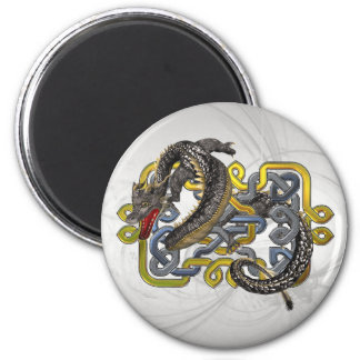 East meets Celtic 6 Cm Round Magnet