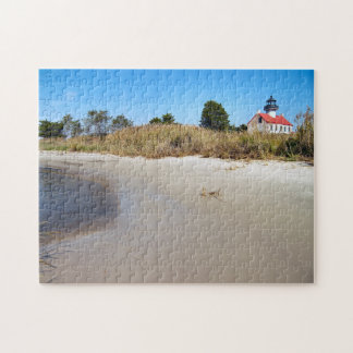 East Point Lighthouse, New Jersey Jigsaw Puzzle