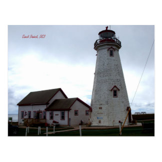 East Point, PEI postcard