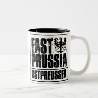 East Prussia Two-Tone Coffee Mug
