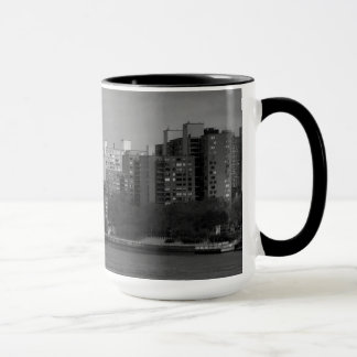 East River Skyline Panorama Mug
