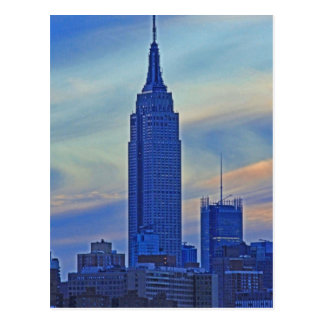 East River View of the Empire State Building A1 Postcard