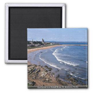 East Sands from Kinkell Braes, St. Andrews, Scotla Magnet