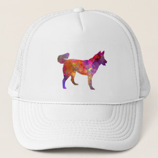 East Siberian Laika in watercolor Trucker Hat