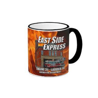 East Side Express Ringer Mug (Flames)