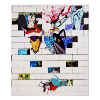 East Side Gallery, Berlin Wall, Brick Art(1) Poster