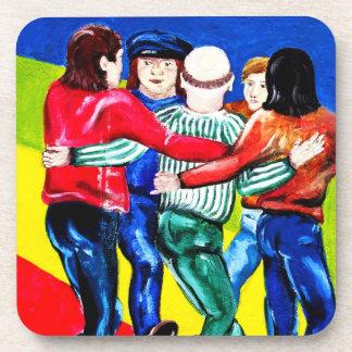 East Side Gallery, Berlin Wall, Dancing (1) Coasters