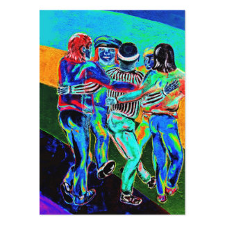 East Side Gallery, Berlin Wall, Dancing (3) Pack Of Chubby Business Cards