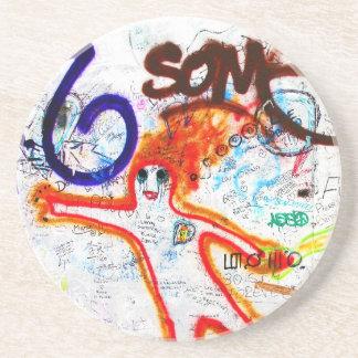 East Side Gallery, Berlin Wall, Graffiti (2) Coasters