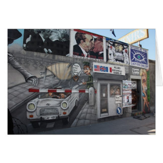 East Side Gallery Greeting Card