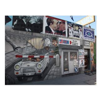East Side Gallery Postcard