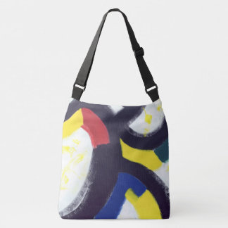 East side Gallery Texture Background Tote Bag