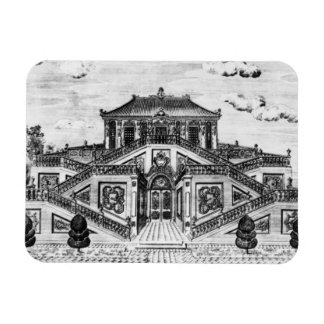 East side of the Palace of the Calm of the Sea, Ga Rectangular Photo Magnet