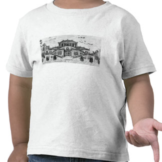 East side of the Palace of the Calm of the Sea, Ga T-shirts