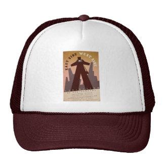 East Side West Side Trucker Hats