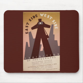 East Side West Side Mouse Pad
