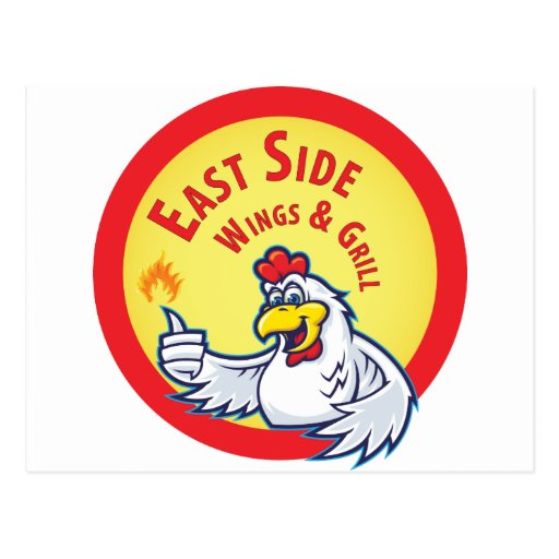 East Side Wings Novelties Post Card
