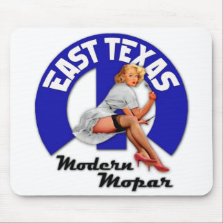 East Texas Modern Mopar Mouse Pad