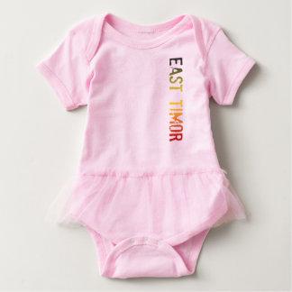 East Timor Baby Bodysuit