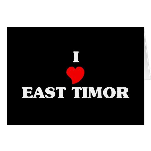 EAST TIMOR CARDS