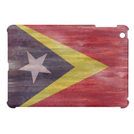 East Timor distressed flag Cover For The iPad Mini
