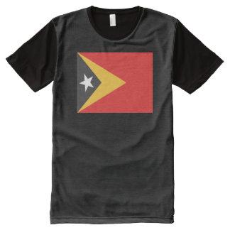 East Timor Flag All-Over Print T-Shirt