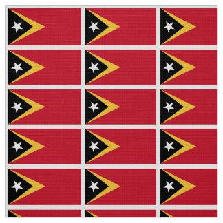 East Timor Flag Fabric