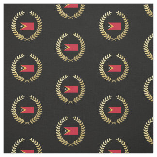 East Timor Flag Fabric