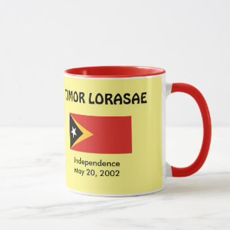 East Timor Flag & Independence Mug