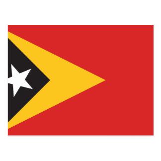 East Timor Flag Postcard