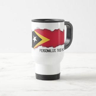 East Timor Flag Travel Mug