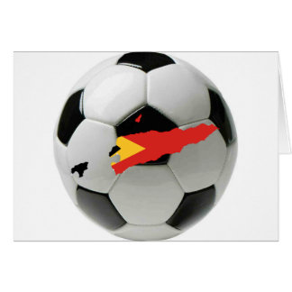 East Timor football soccer Card