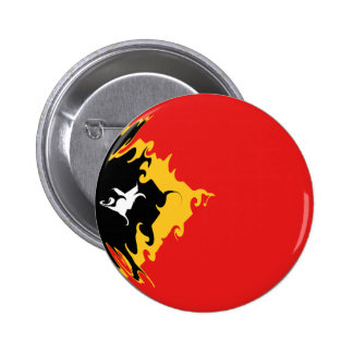 East Timor Gnarly Flag Button