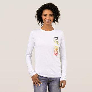 East Timor Long Sleeve T-Shirt