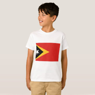 East Timor National World Flag T-Shirt