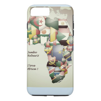 East West North South Central I Love Africa iPhone 7 Plus Case