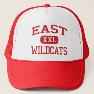 East - Wildcats - High - Albuquerque New Mexico Trucker Hat