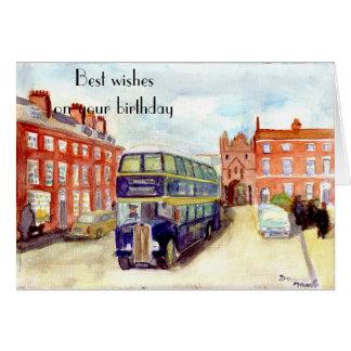 East Yorkshire AEC Regent birthday card